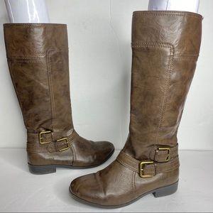 Nine West Girl Sassy Tran Brown Fashion boots 3.5